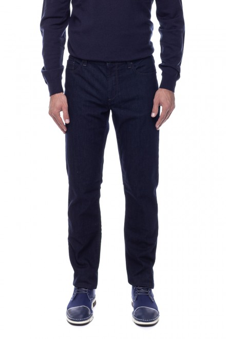 Темно-синие джинсы Alberto