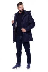 Куртка чоловіча синя Fynch Hatton 4