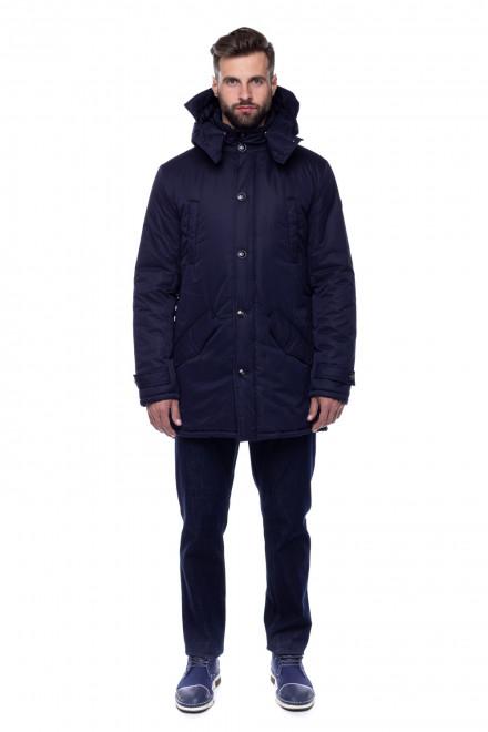 Куртка чоловіча синя Fynch Hatton