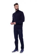 Гольф мужской темно-синий Fynch Hatton 5