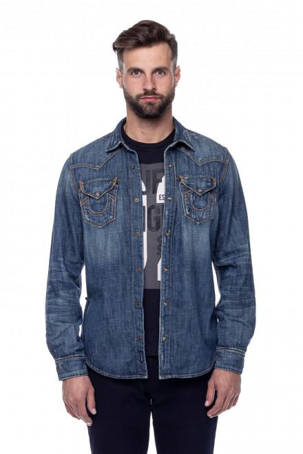 Рубашка мужская джинсовая True Religion