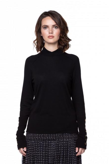 Черный пуловер Steffen Schraut