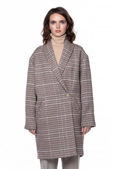 Однобортное пальто Steffen Schraut