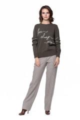 Пуловер женский с вышивкой Repeat  6