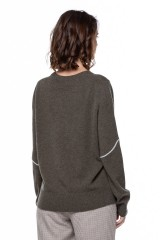 Пуловер женский с вышивкой Repeat  2