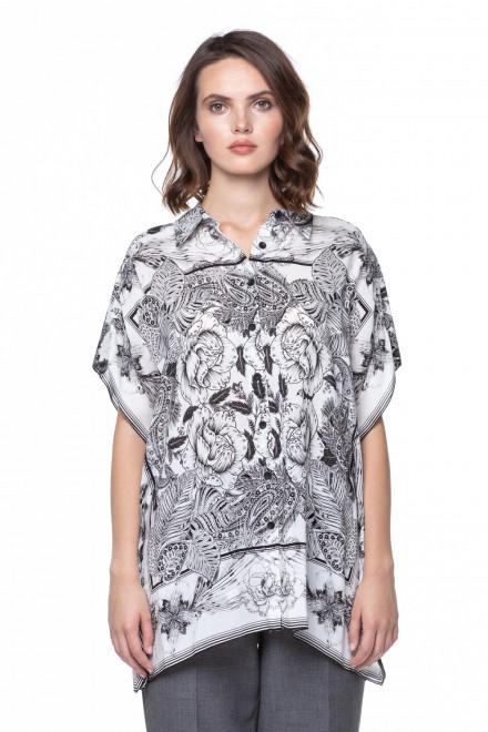 Блуза  с флоральным принтом Riani