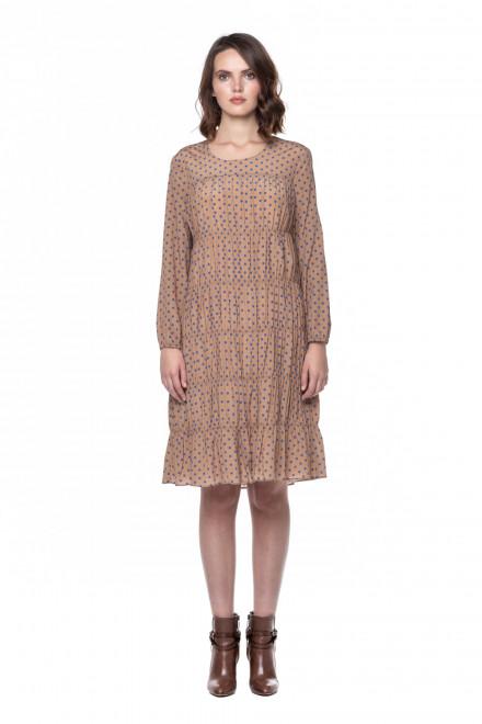 Шелковое платье Steffen Schraut