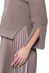 Платье плиссе и короткий пуловер Riani 7