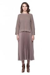 Платье плиссе и короткий пуловер Riani 1