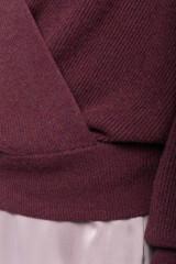 Пуловер женский бургунди Repeat 4