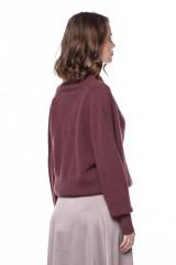 Пуловер женский бургунди Repeat 2