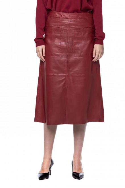 Кожаная юбка Riani