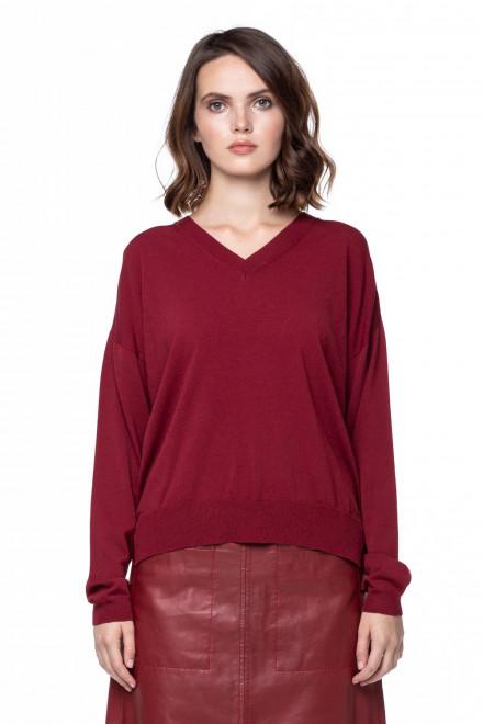 Темно-красный пуловер Riani