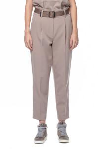Бежевые брюки Riani