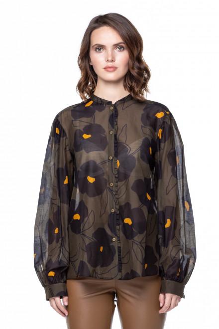 Блуза с цветами Luisa Cerano