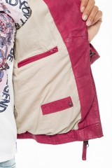 Куртка кожаная женская Oakwood 4