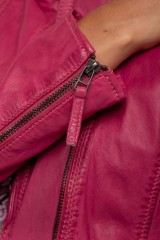 Куртка кожаная женская Oakwood 6