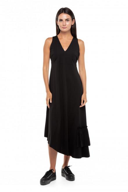 Платье женское черное длинное облегающее Le Coeur