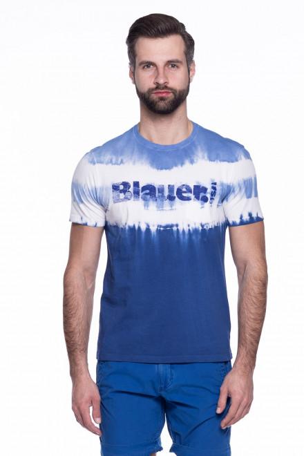 Футболка мужская с надписью Blauer.USA