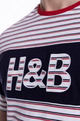 Футболка мужская полосатая Harmont & Blaine 3