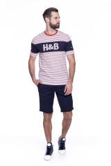 Футболка мужская полосатая Harmont & Blaine 4