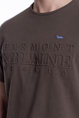 Футболка мужская коричневая Harmont & Blaine 3
