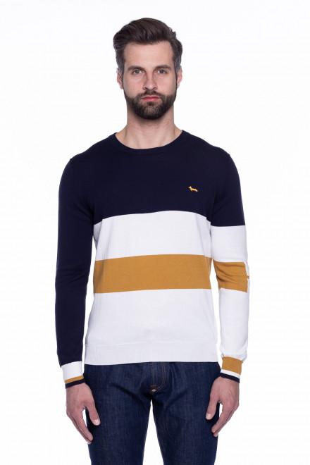 Пуловер мужской трехцветный Harmont & Blaine