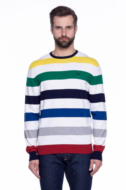 Пуловер мужской в полоску Harmont & Blaine
