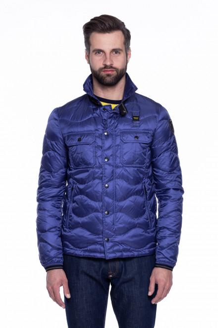 Куртка мужская синяя Blauer.USA