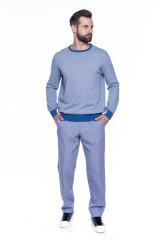 Брюки мужские голубого цвета Hiltl 4