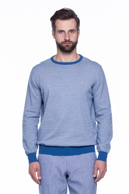 Пуловер мужской двухцветный Fynch-Hatton