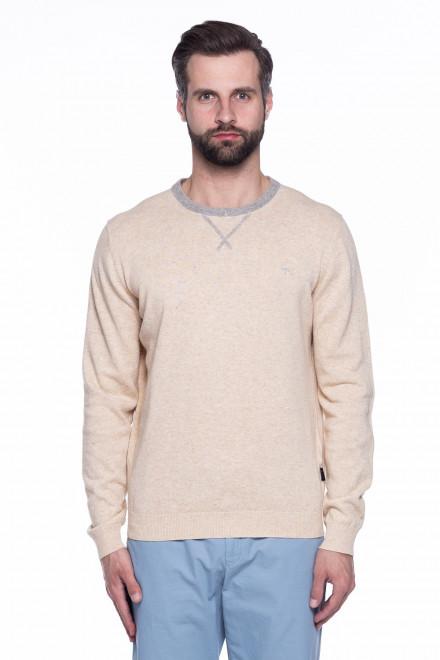 Пуловер мужской бежевый Fynch Hatton