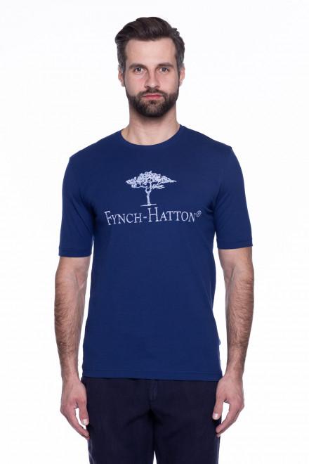 Футболка чоловіча з логотипом Fynch Hatton