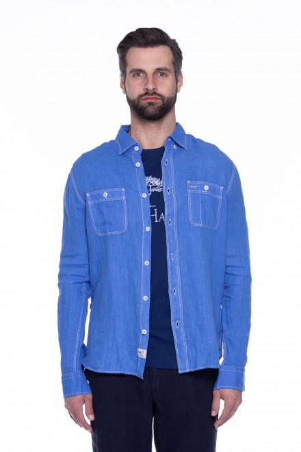 Рубашка мужская льняная Blauer.USA