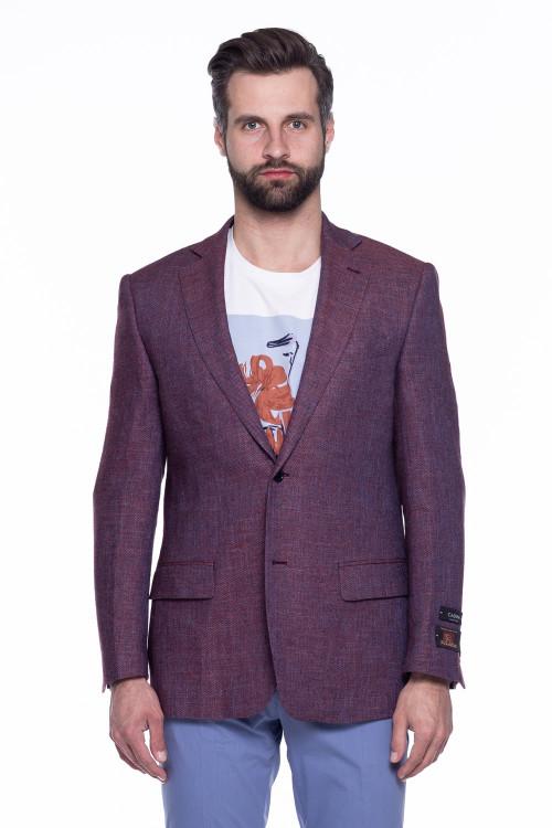 Бордовый пиджак Cadini