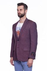 Бордовый пиджак Cadini  1