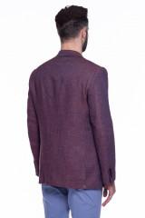 Бордовый пиджак Cadini  2