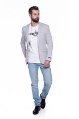 Серый трикотажный пиджак  Junk de Luxe 4