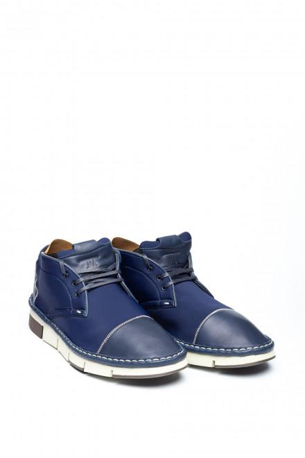 Туфли мужские спортивные синие Watson&Parker