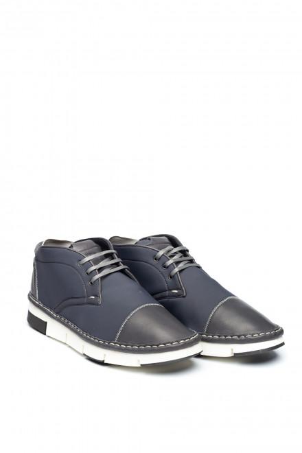 Туфли мужские спортивные серые Watson&Parker