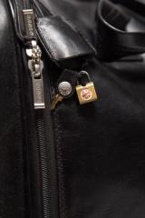 Дорожная сумка из натуральной кожи Giudi 5