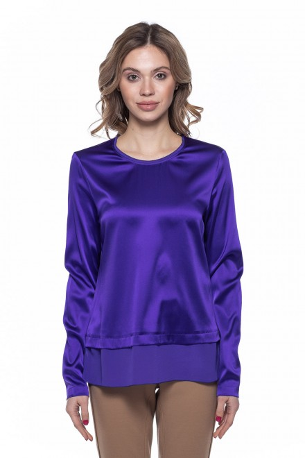Блуза женская фиолетовая St.Emile