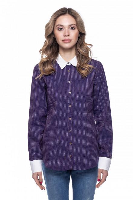 Блуза женская в мелкий принт van Laack