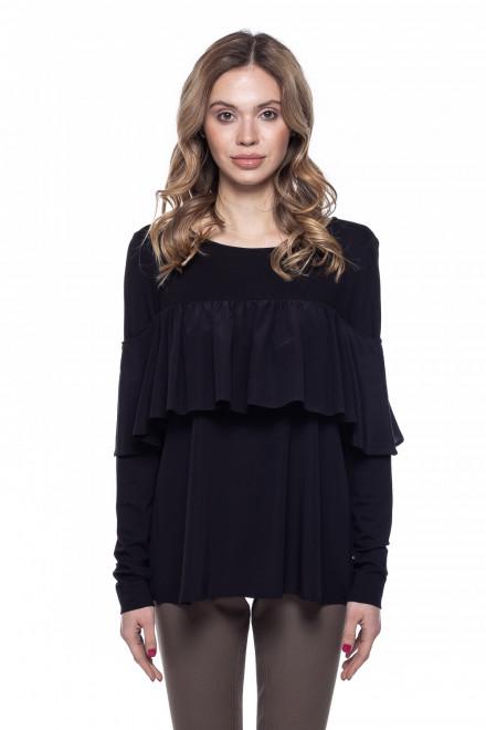 Пуловер женский с оборкой van Laack