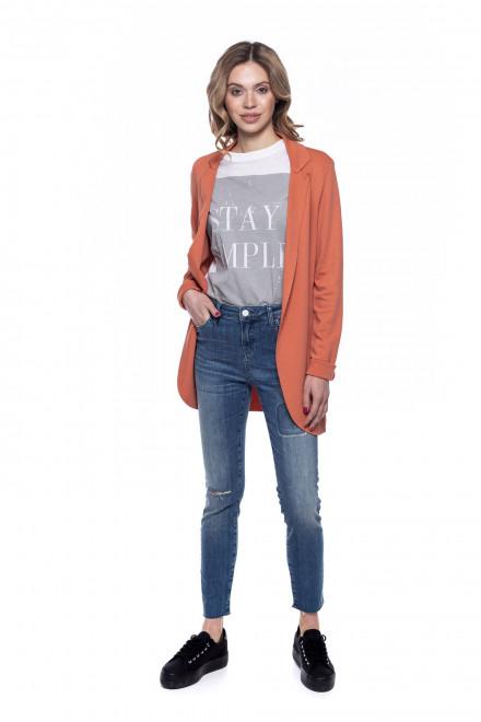 Жакет женский оранжевого цвета Rich&Royal