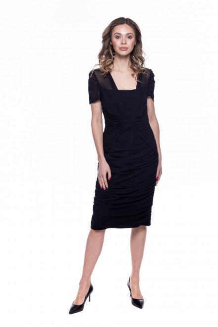 Платье-футляр женское черное Rena Lange