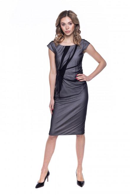 Платье женское серое Strenesse