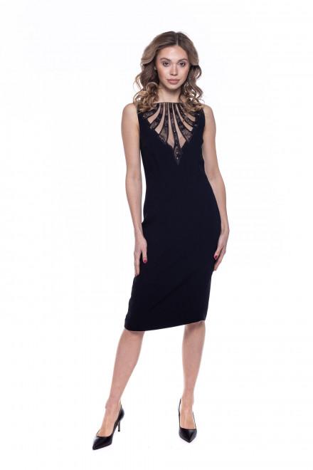 Платье женское черное Mattiolo