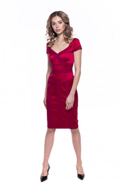 Платье женское красное Rena Lange