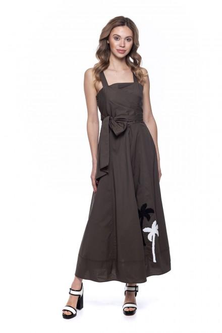 Платье женское цвета хаки Sfizio